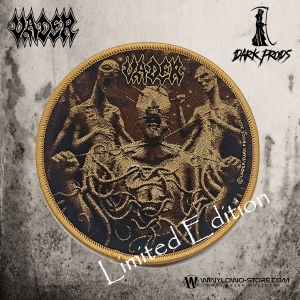 VADER - DeProfundis - Patch circle, gold ring