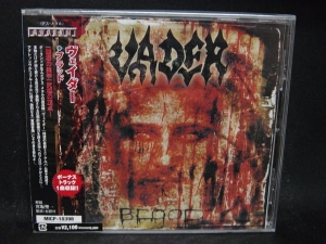 VADER ‎- Blood - Japan (CD Jevelcase)