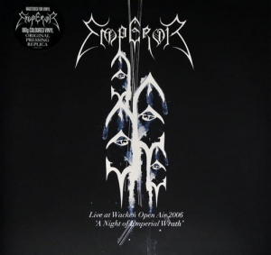 "Emperor - Live At Wacken Open Air 2006 - ""A Night Of Emperial Wrath"" - Reissue, 180 Gram, Blue"