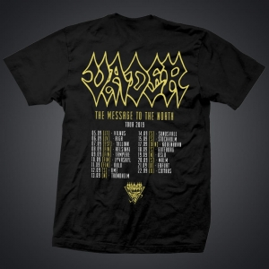 VADER - The Message to the North (T-shirt) TRASA!