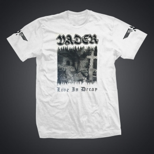 VADER - Live in Decay - Tshirt men
