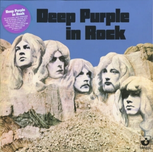 Deep Purple ‎– Deep Purple In Rock - Reissue - LP purple