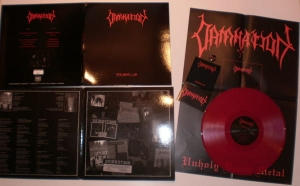 Damnation - DEMO(n)S - LP RED