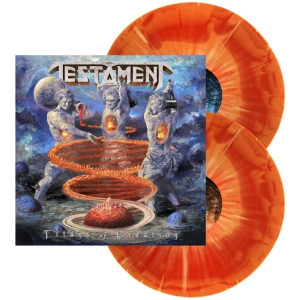 Testament - Titans Of Creation (Fire Edition Vinyl) - USA